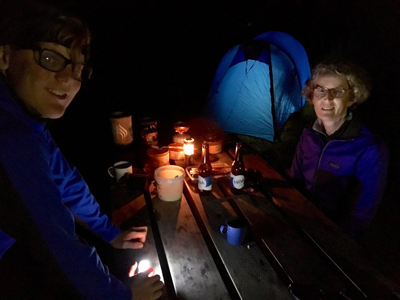 Brews at Harvey Bay campsite