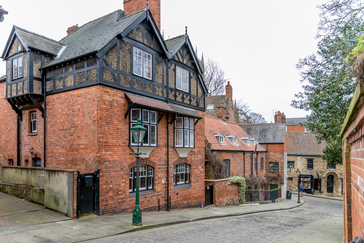"Wordsworth Street - ""right in the centre of Lincoln's Cathedral and cultural area"""