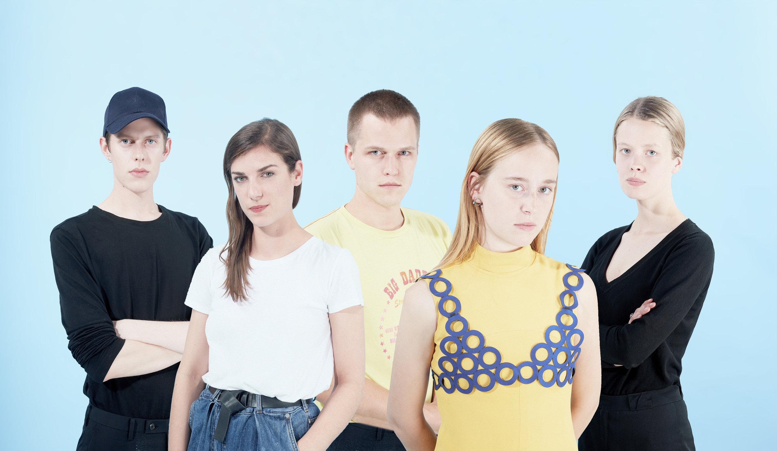 Kjell de Meersman, Sofie Gaudaen, Emmanuel Ryngaert, Sofie Nieuwborg & Marie-Sophie Beinke.