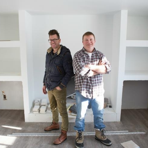 BRAND NEW SERIES 'BOISE BOYS' COMING TO HGTV - Best friends Clint Robertson and Luke Caldwell's house-flipping series,Boise Boys, has been picked up for a six-episode series.