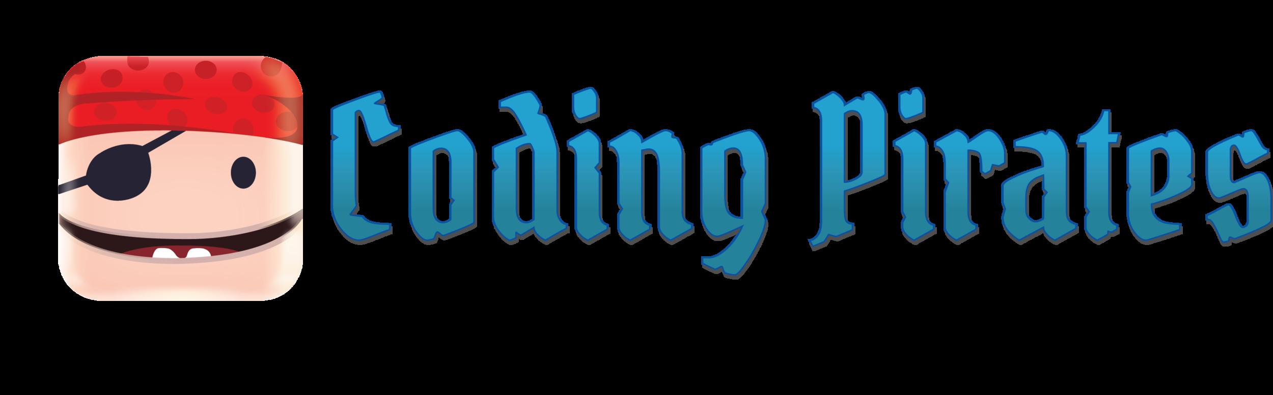 Coding Pirates Skrift og Hack Logo.png