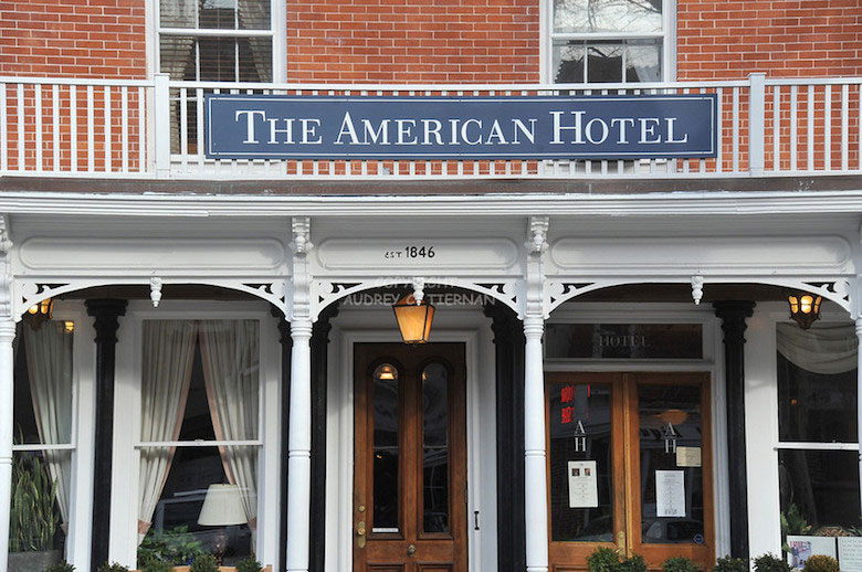 Built in 1846 with 8 quaint rooms filled with American antiques.