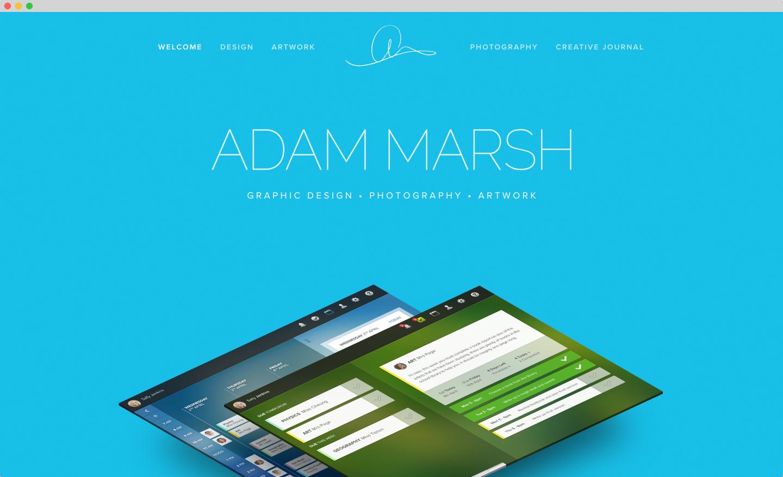 squarespace design development code project adam marsh squarestudio