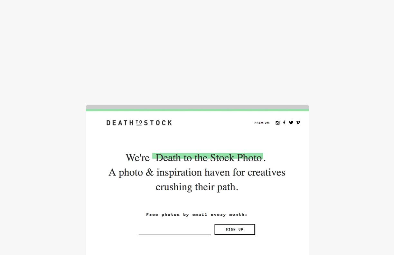 Squarespace   Stock Images Death To Stock Photo   SquareStudio Plugins & Development