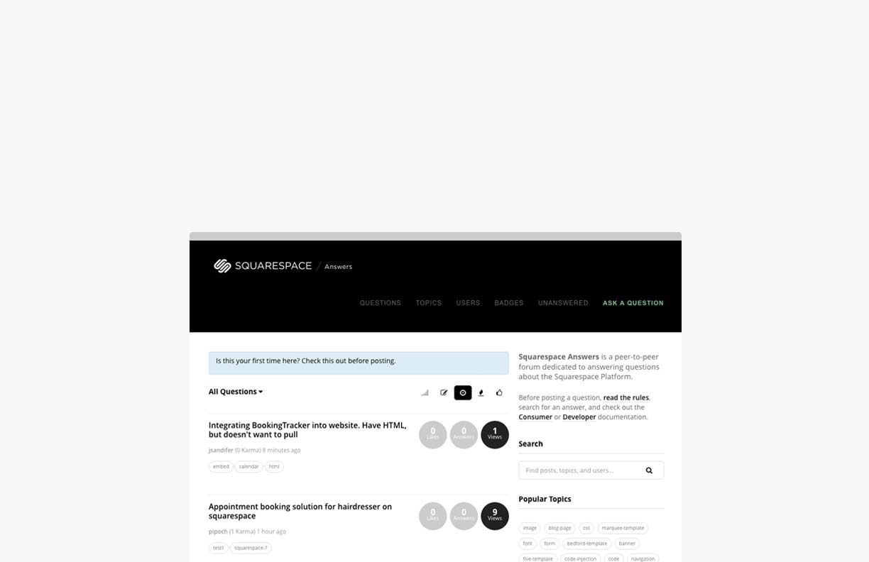 Squarespace Answers   SquareStudio Plugins & Development