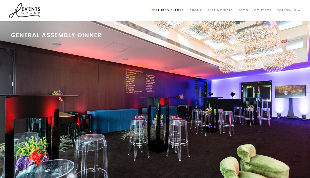 Squarespace Design | JL Events Group