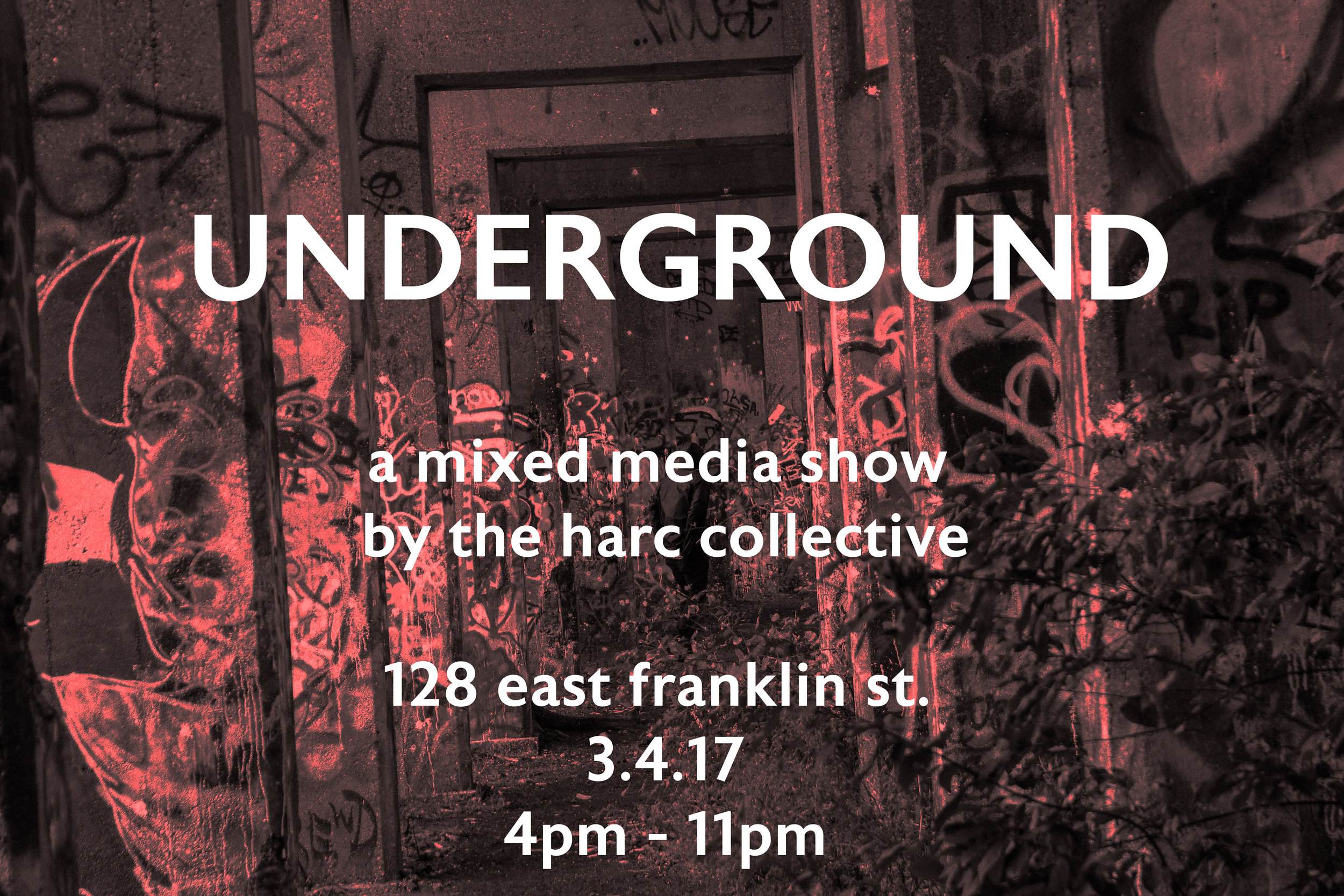 UNDERGROUND - a pop-up art show