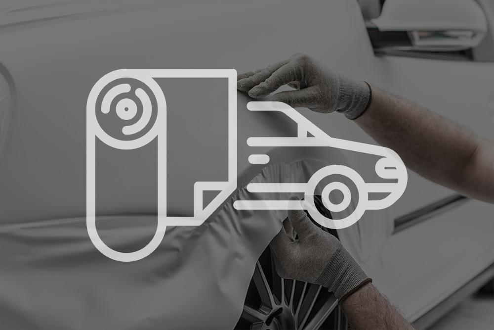 Car Rwapping, Fahrzeugfolierung, Vollverklebung