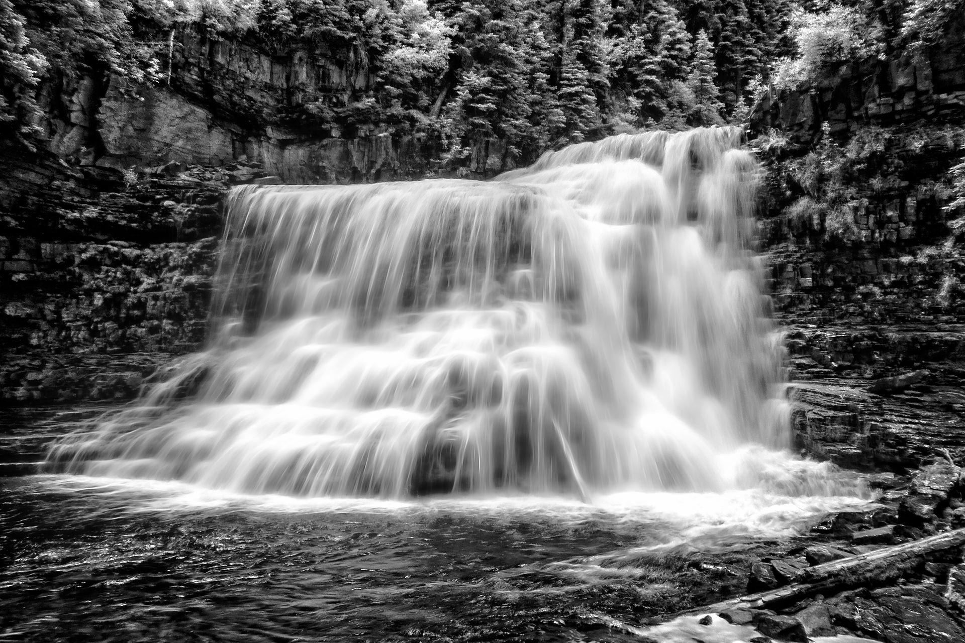 Magic Waterfall, Big Sky 2015