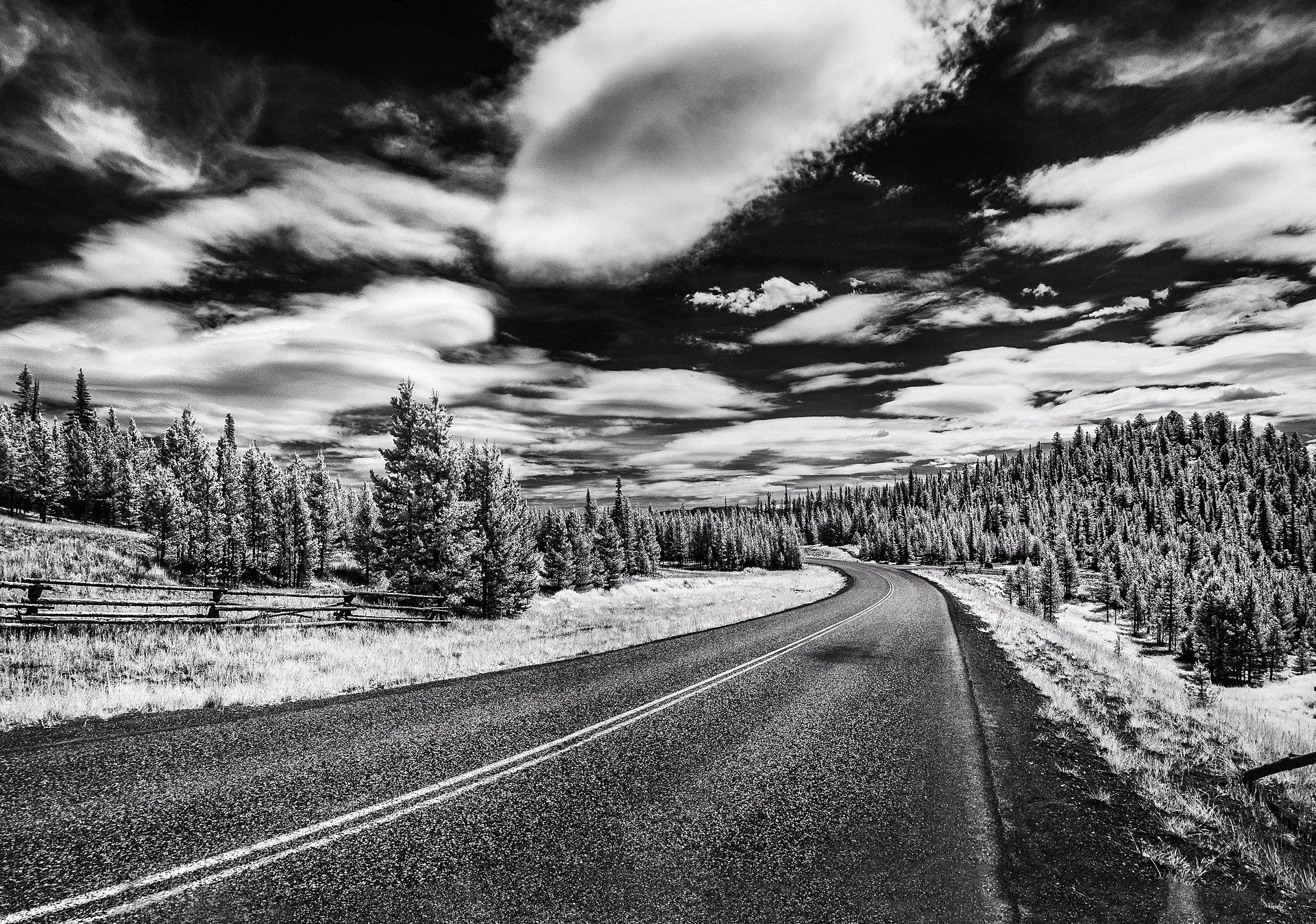 Open Road, Big Sky, Summer 2014