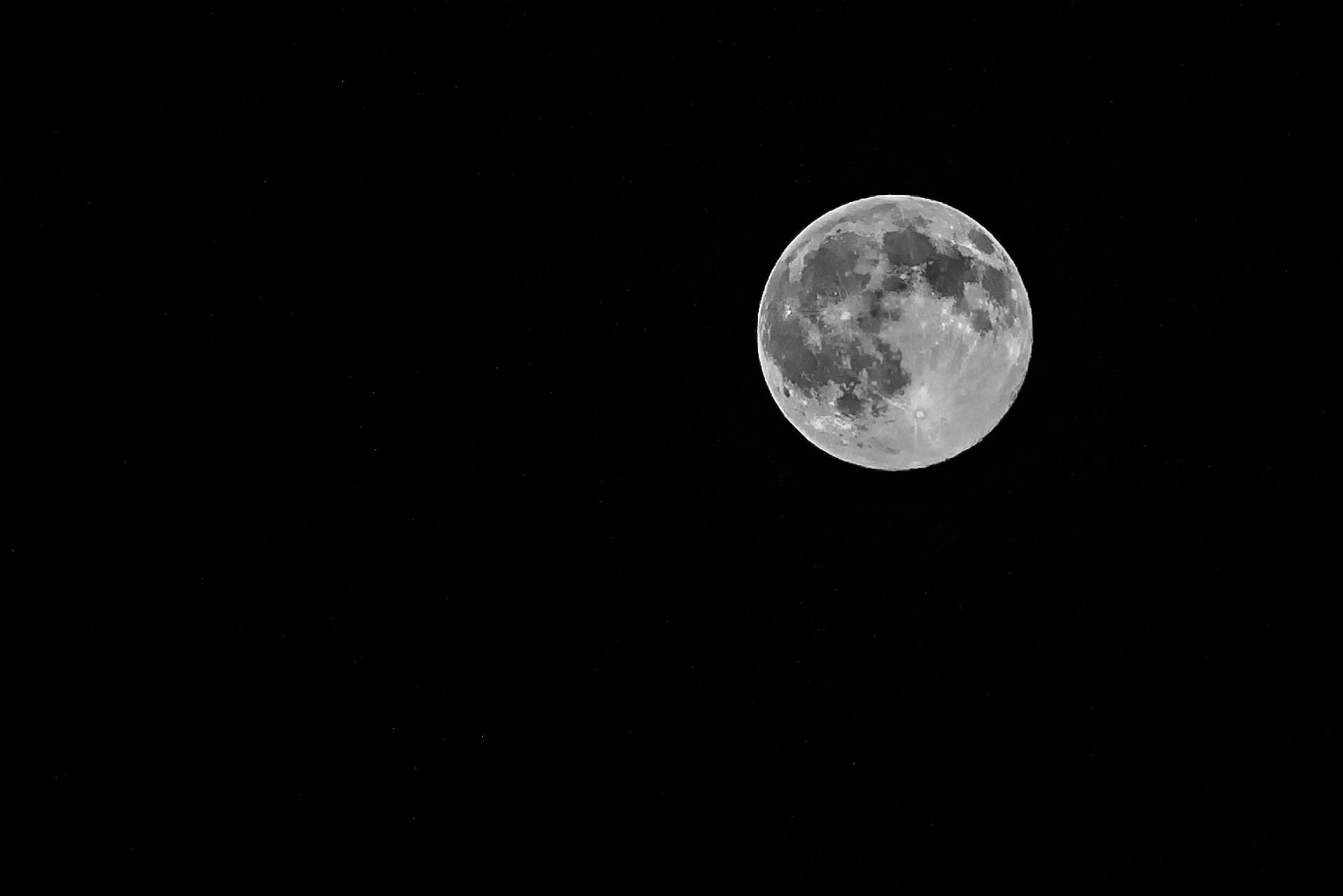 Full Moon, Big Sky, July 2, 2015,