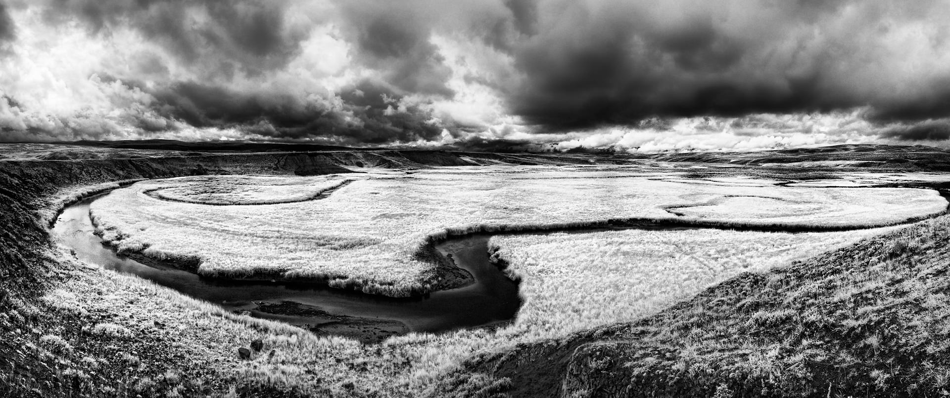 Angry Snake River, Yellowstone Park, 2014