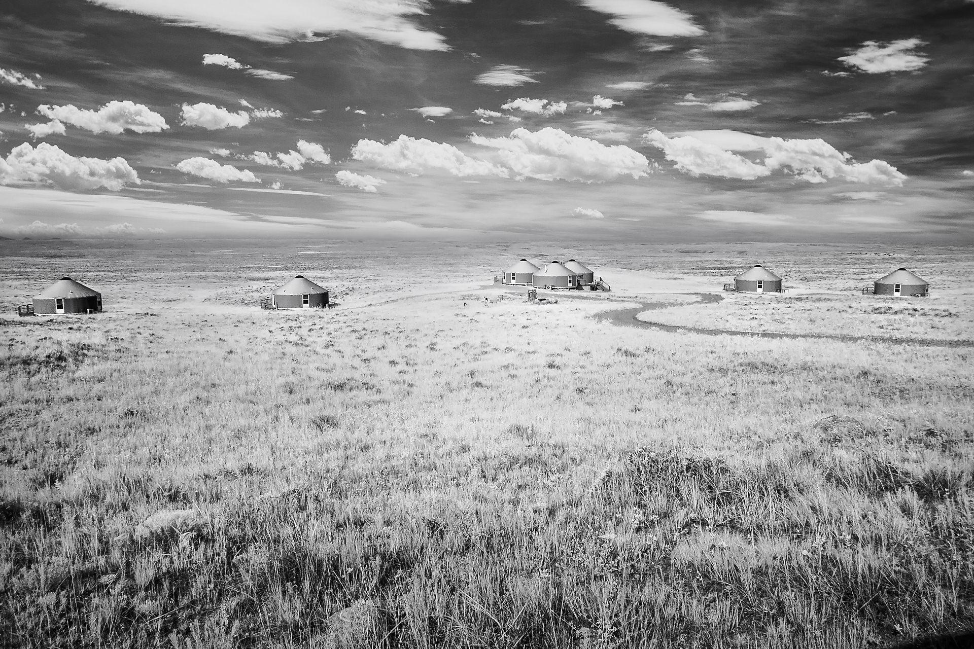 Kestral Camp, American Prairie Reserve, 2015
