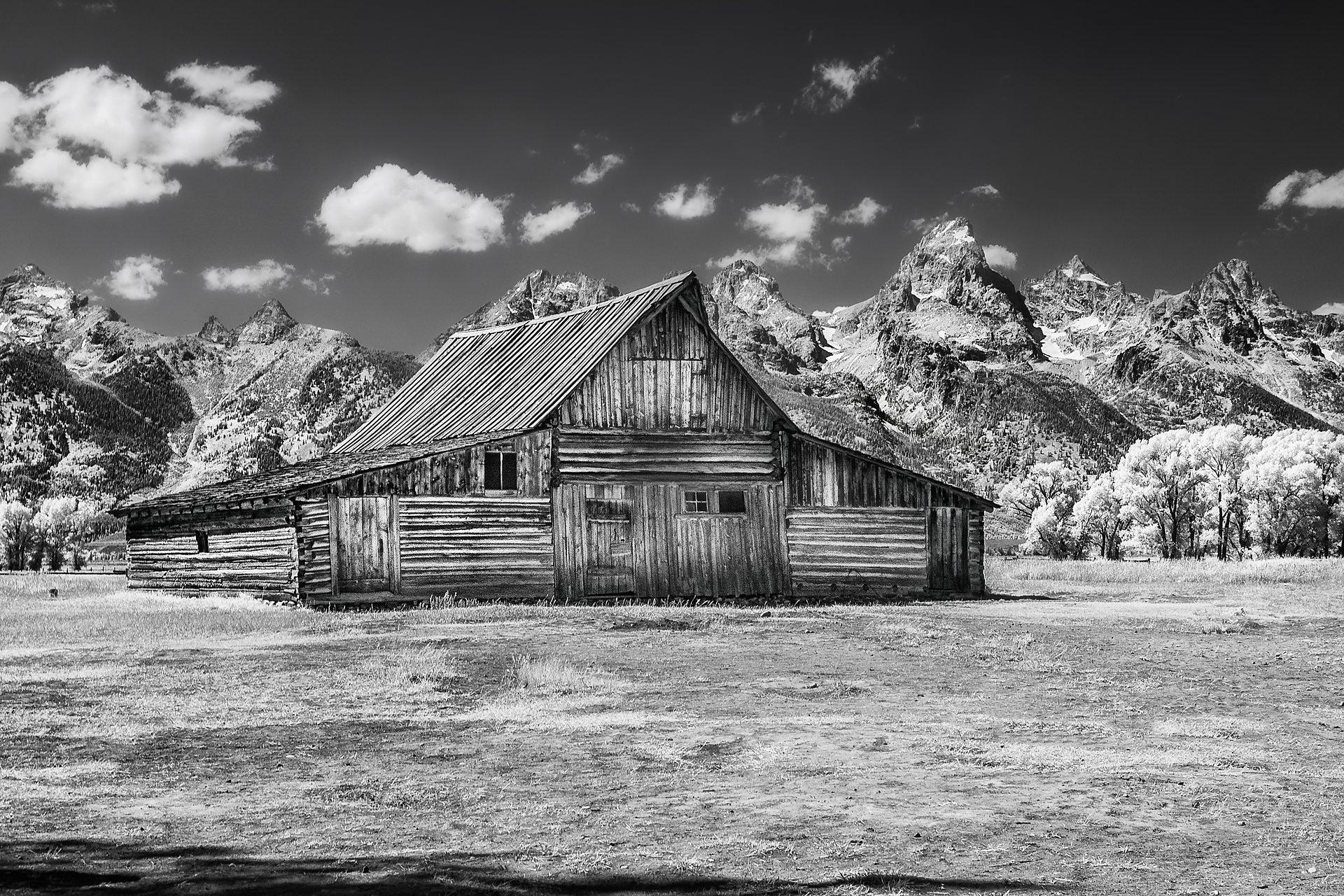 Moulton Barn, Morman Row, Grand Teton Park, Wyoming