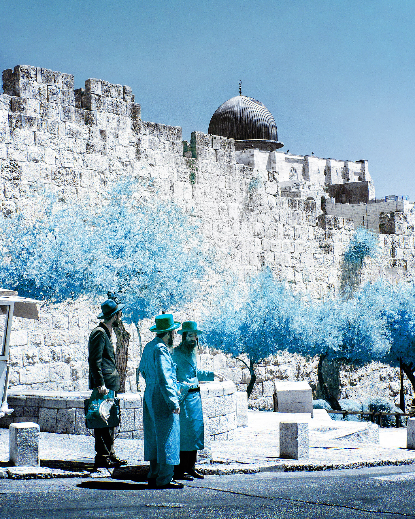Rabbis in Blue