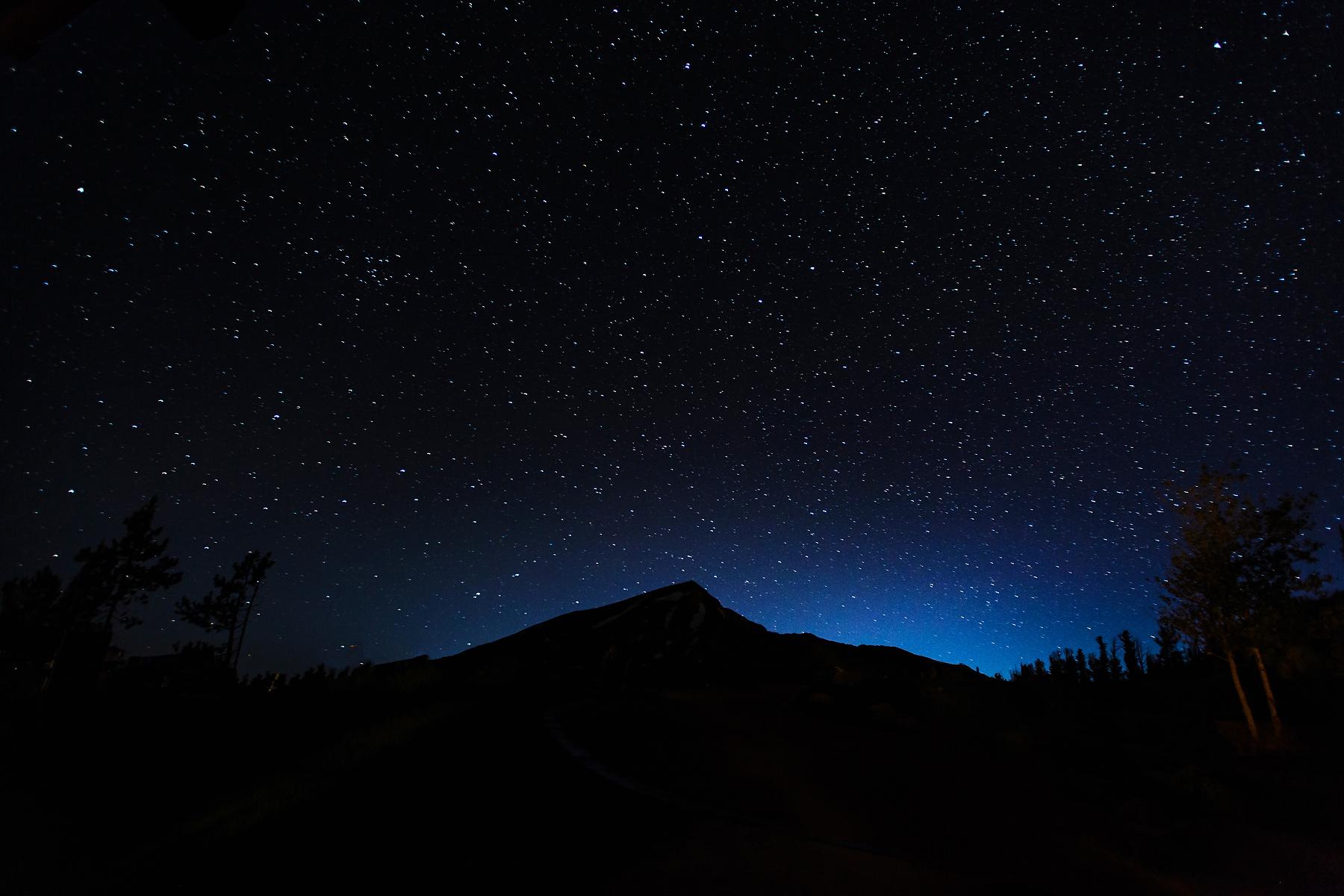Lone Peak Under The Stars