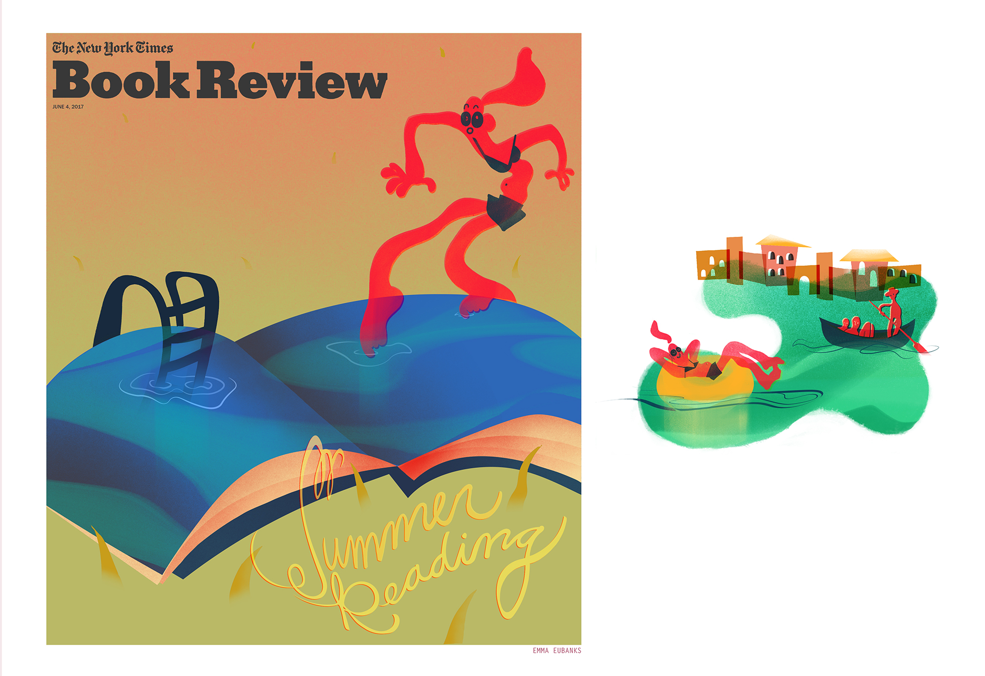 NYT Book Review Mock Spread- Travel