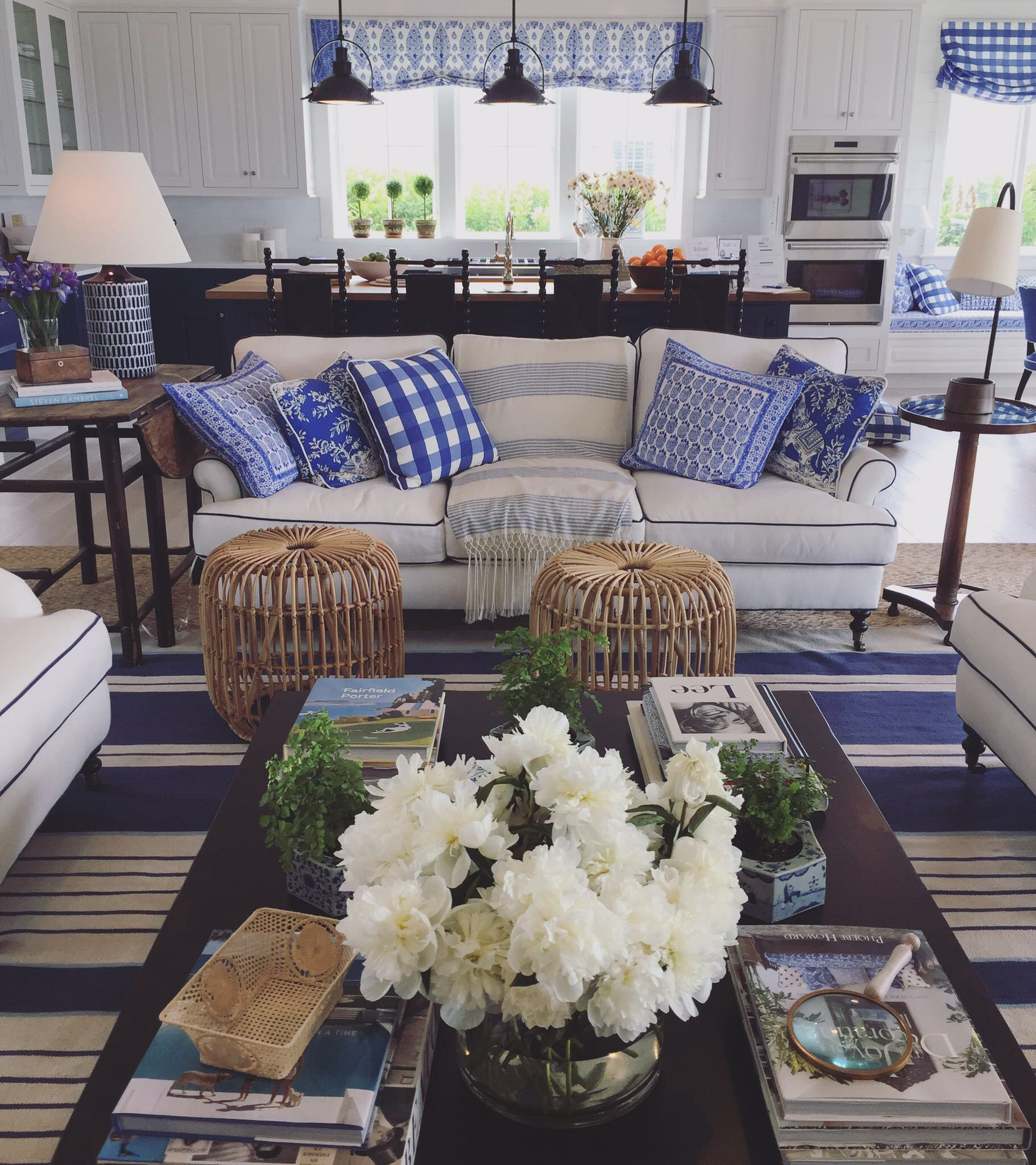 Kerry Spears Interiors - Blue and White3