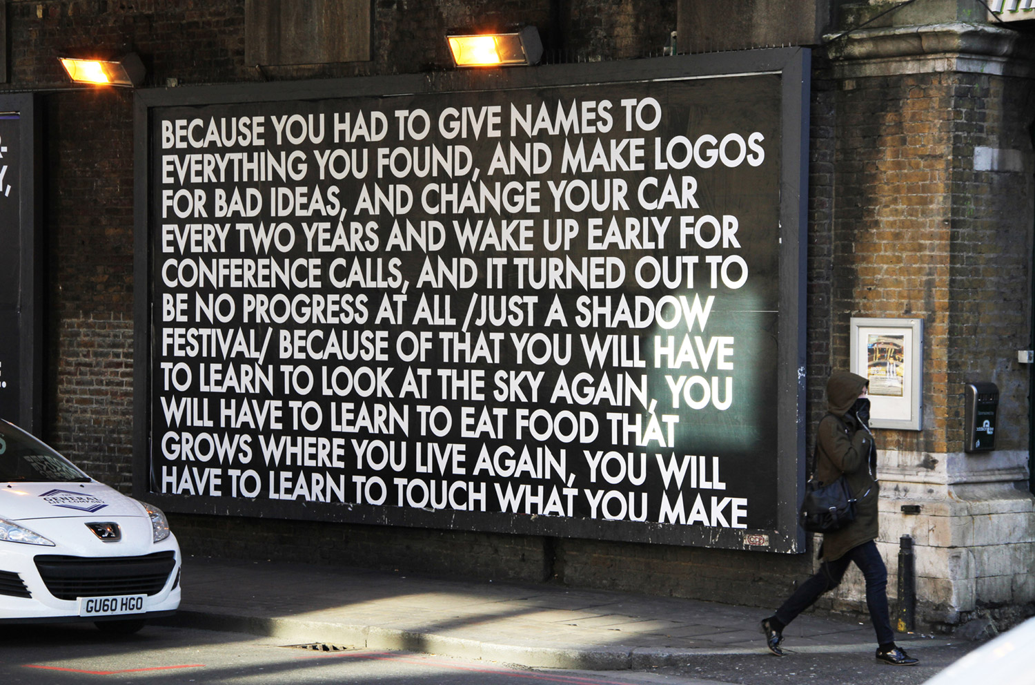 Old Street Billboard 2, 2012.