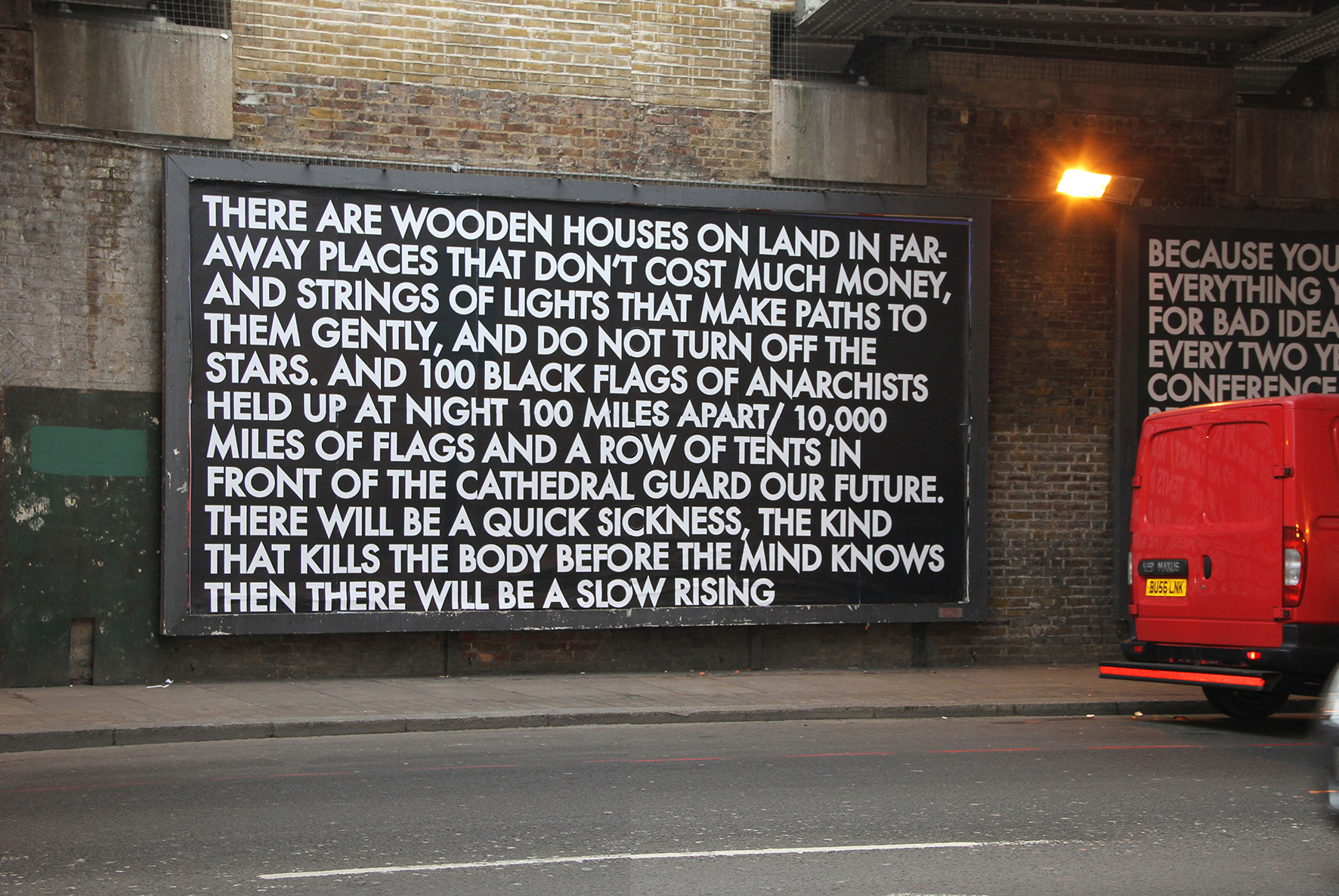 Old Street Billboard 3, 2012.