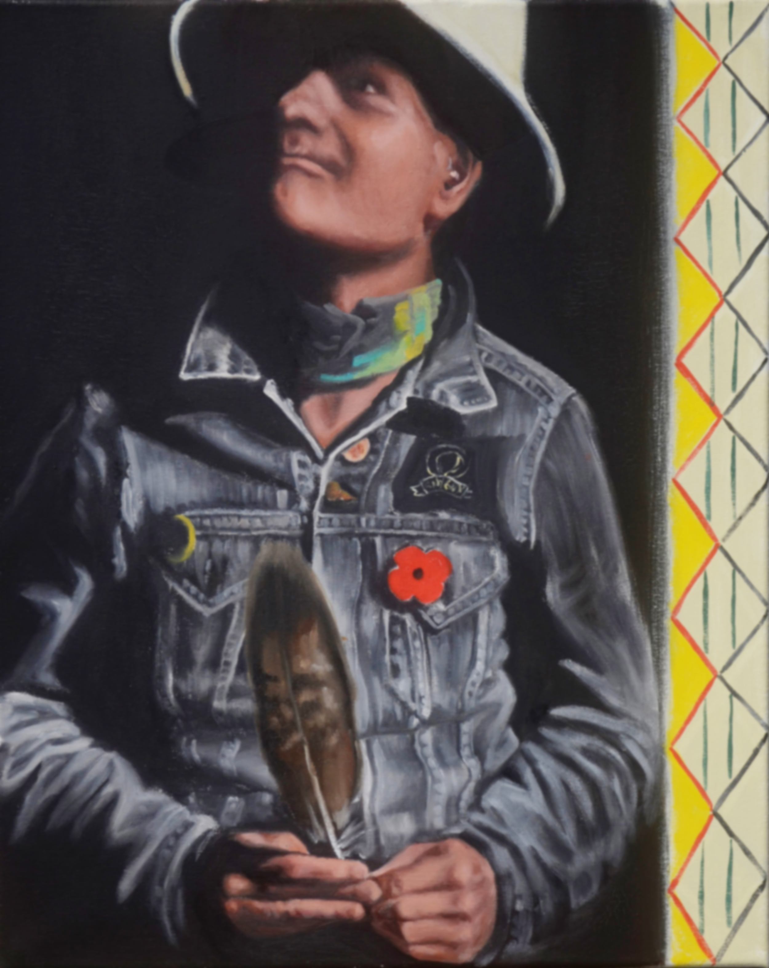 Gord Downie Eagle Feather