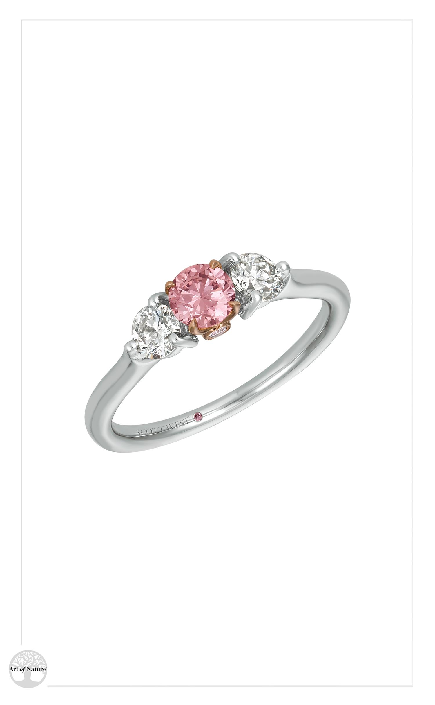 Scott West - Bridal pink