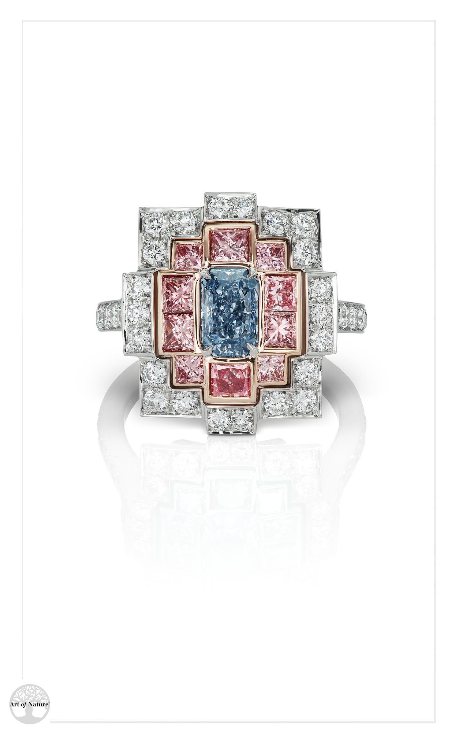 Scott West - Blue Deco ring