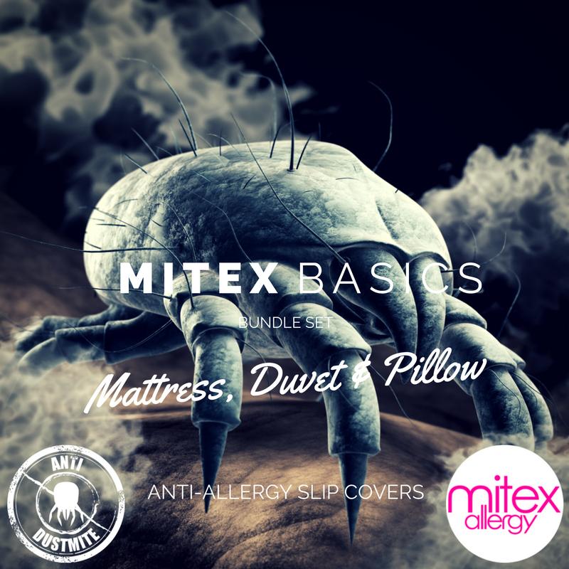 Mitex Basics anti-allergy bed set