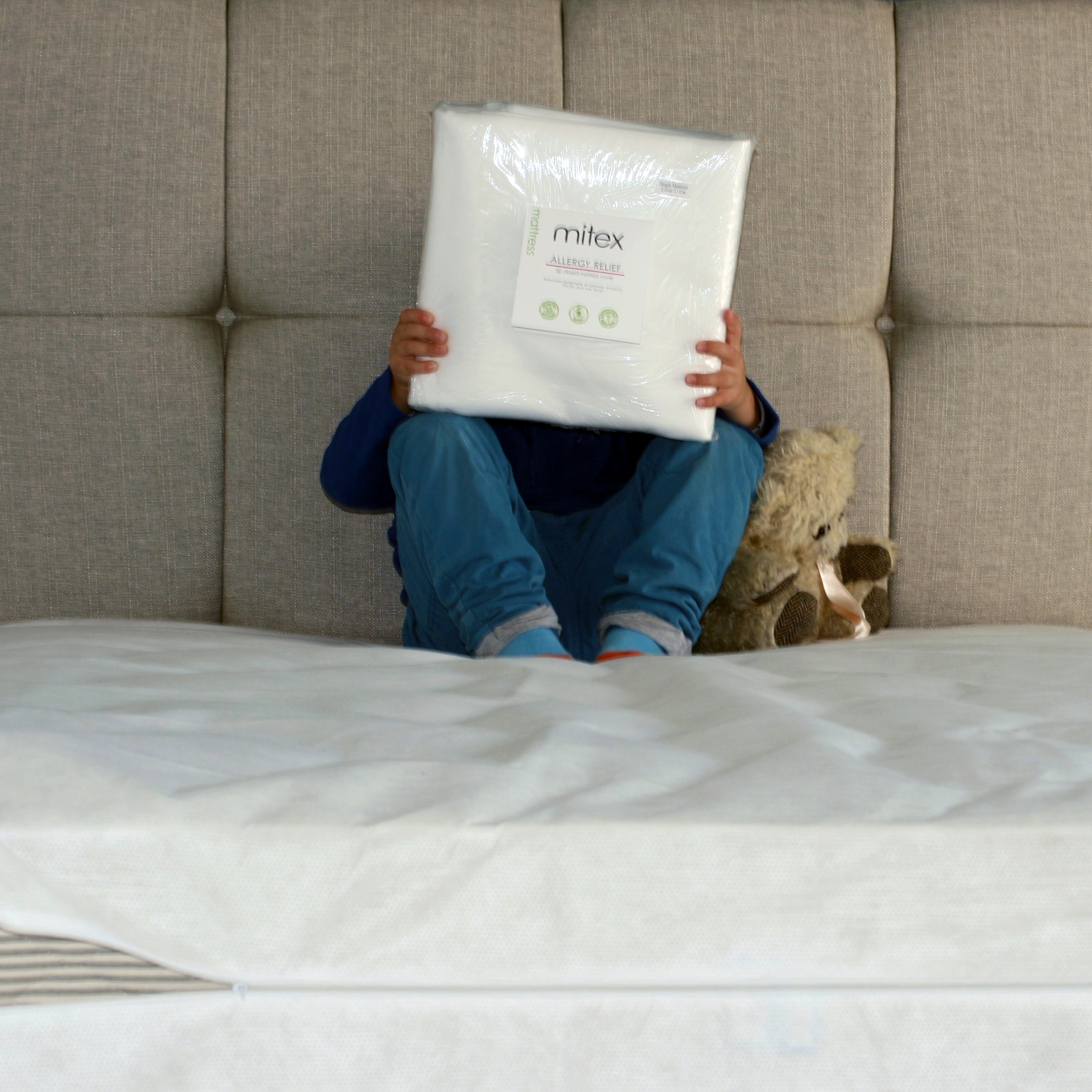 Using anti-allergy mattress covers, pillow covers & duvet covers greatly reduce allergen count in the home