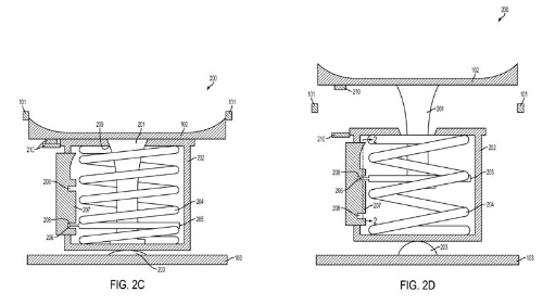 Pop-up joystick design