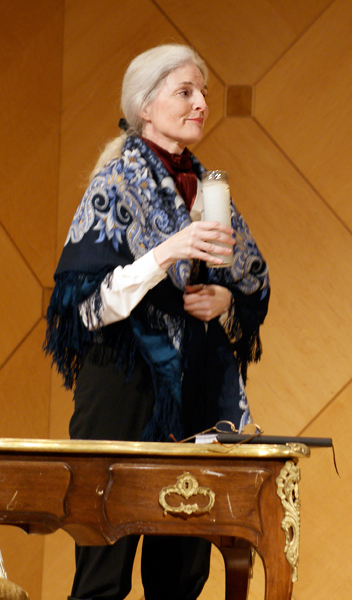Thursday, February 23 at 6:00 p.m. REMEMBERING FREDERIC: A Musical Conversation Between Chopin and George Sand . One-woman show written and performed by Pamela Howland, is both a theatre and concert performance in English (Polish translations available). 75 minutes