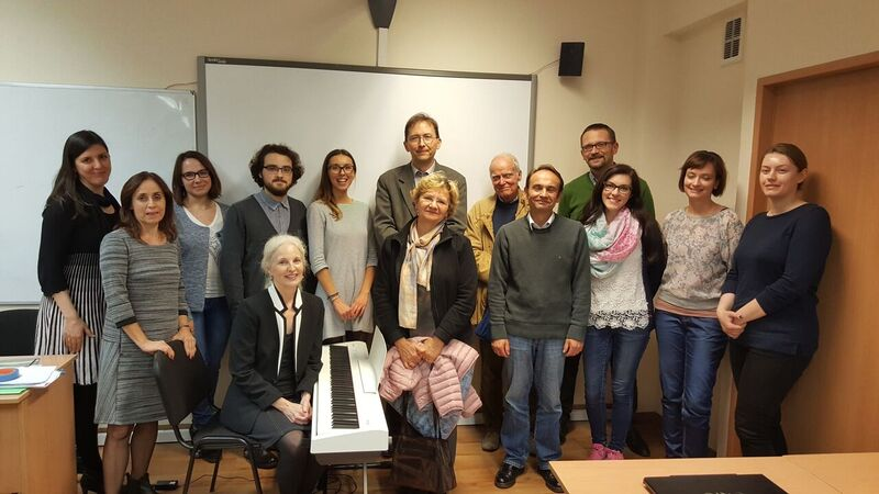 """""""NOCTURNES: Perspectives on the Work of Frederic Chopin & Kazuo Ishiguro"""" presentation at Adam Mickiewicz U CULTURE VULTURE club, October 24, 2017."""