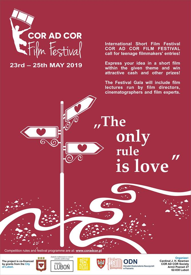 Poster for the film festival in Lubon where I was asked to present my doc film REMEMBERING FREDERIC!