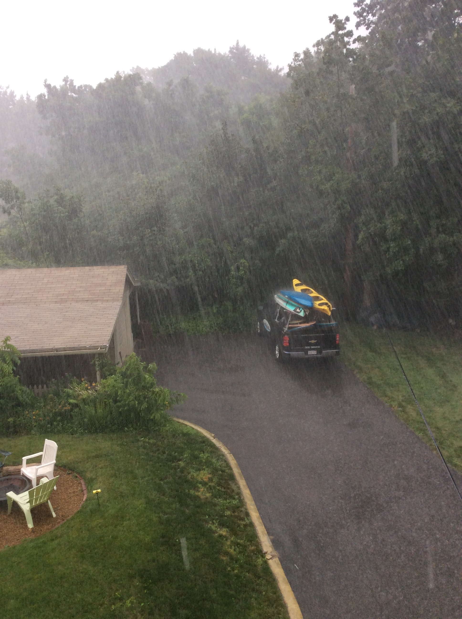 The rain before the rainbow