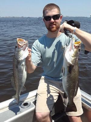 Capt Sipler's trout fishing