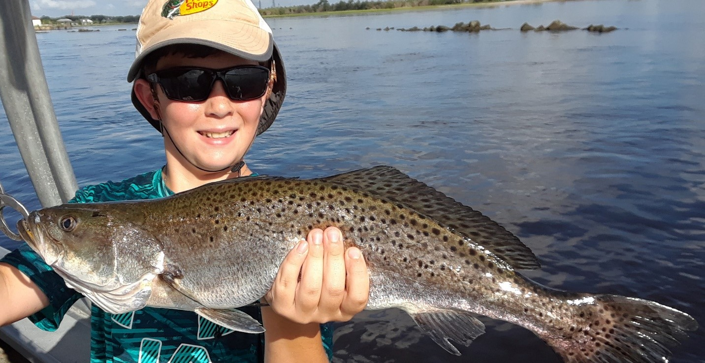 Sipler Jacksonville Fishing Charter w/ large trout