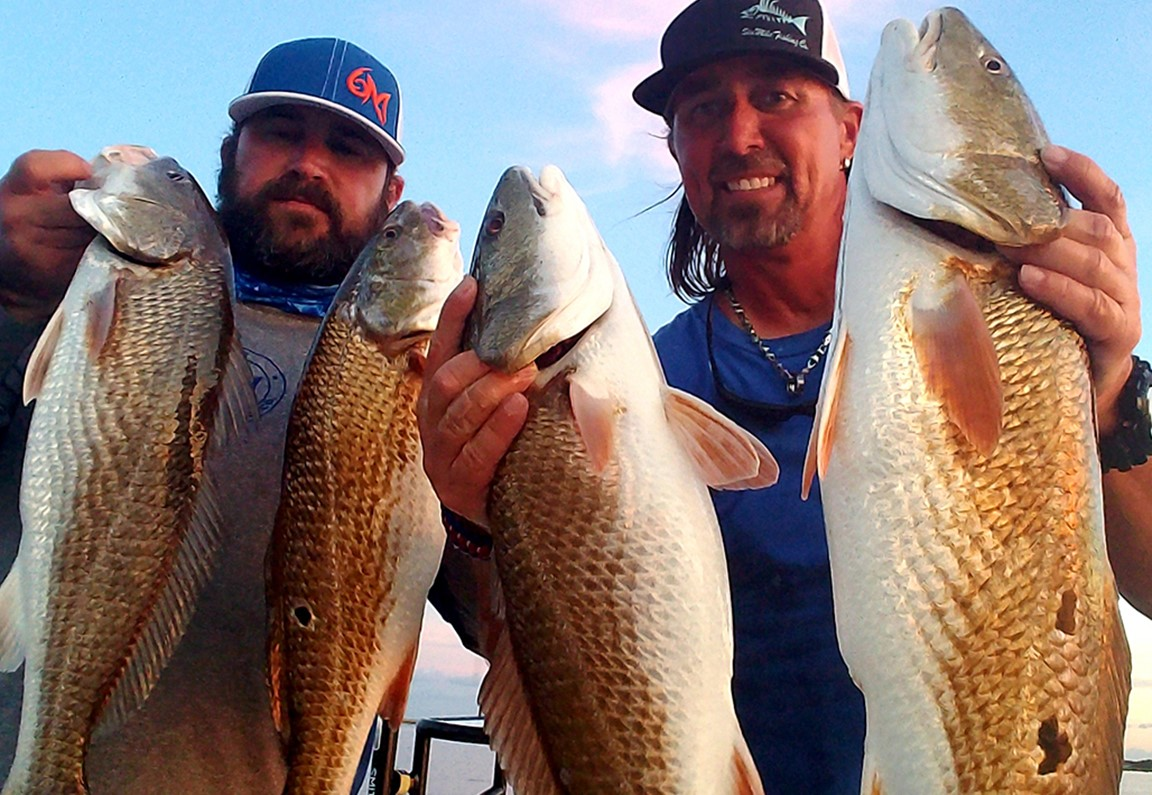Slot Redfish in Jacksonville with Captain Don Taylor