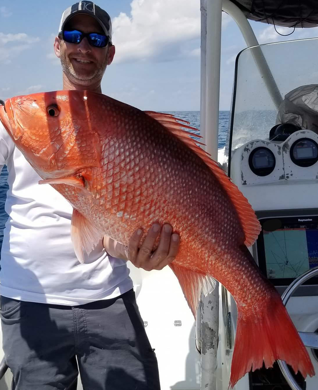 large red snapper in Jacksonville