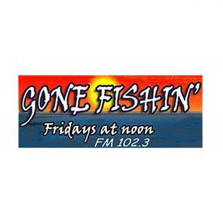 Gone Fishin Radio Show Logo