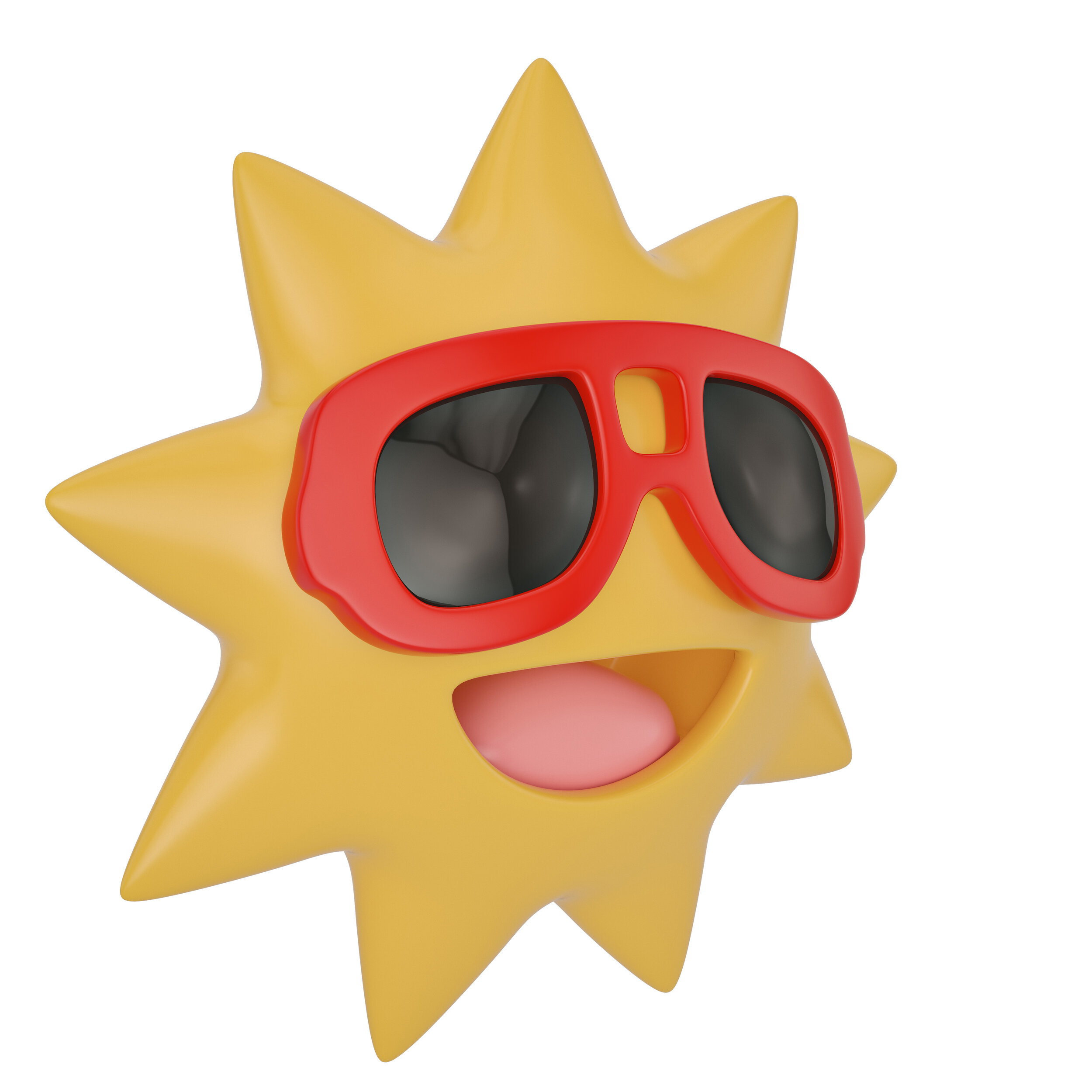 check the radar - hot sun animation