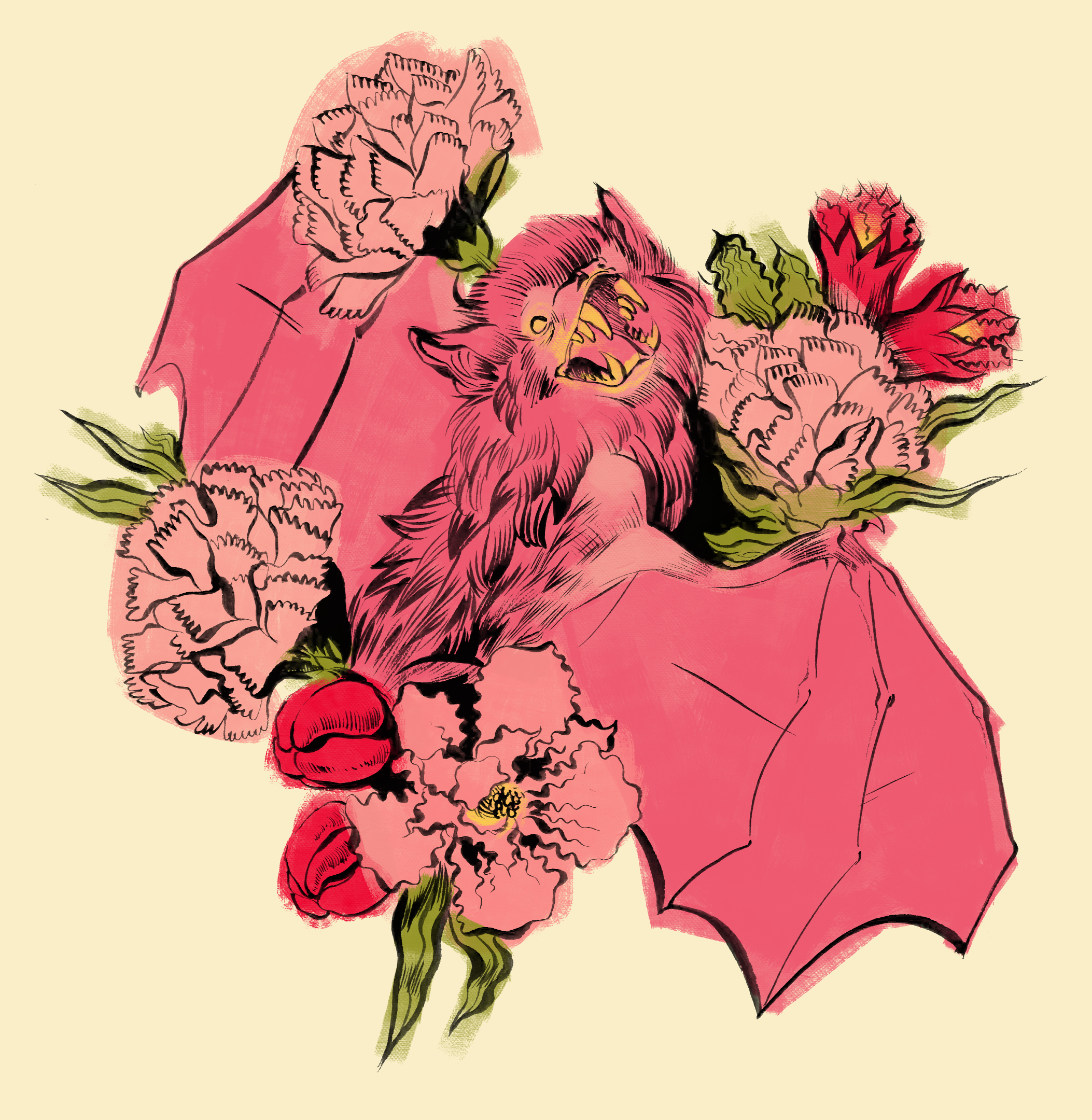 Bats and Carnations