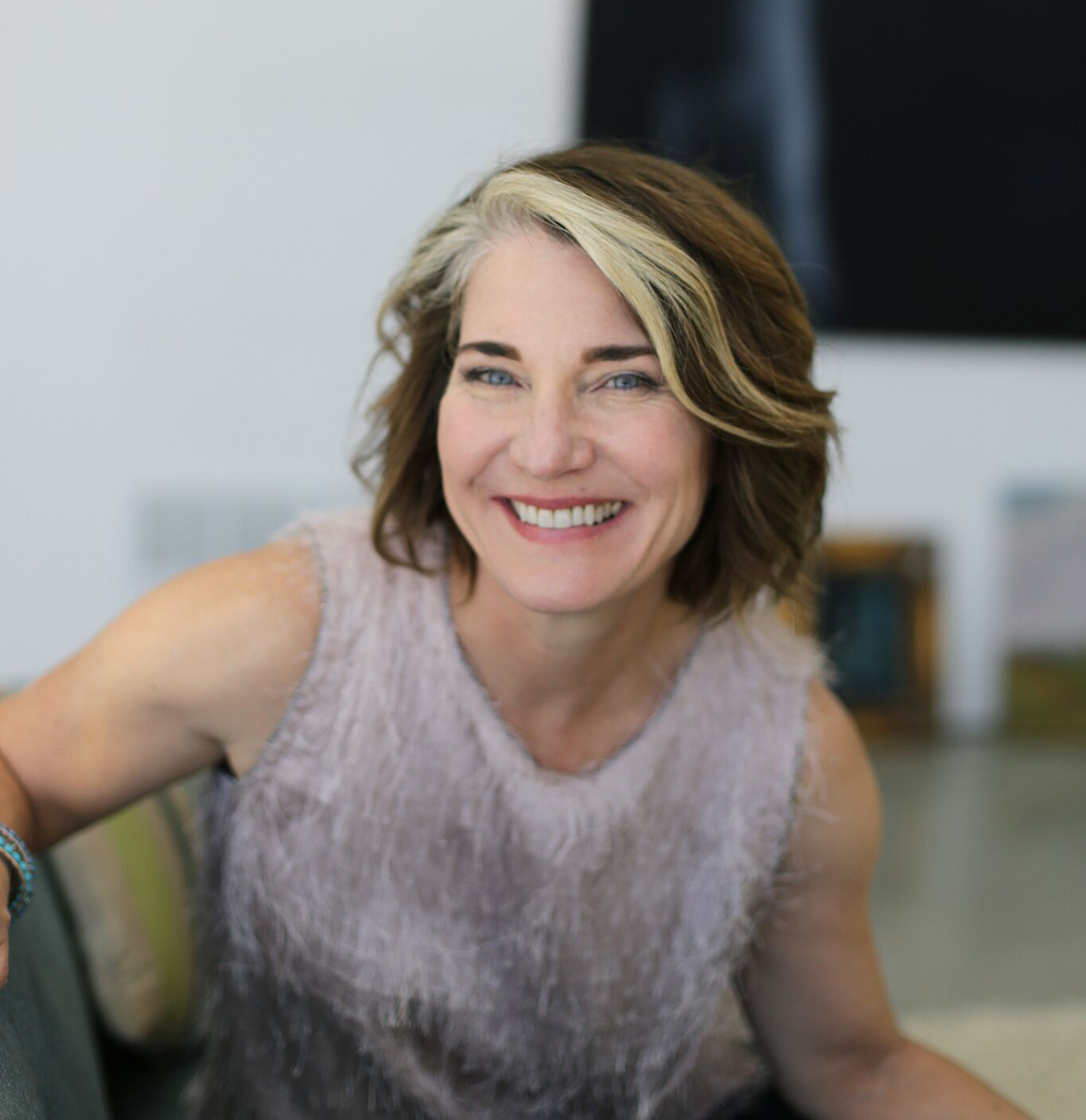 Jennifer Louden - a personal growth pioneer and best-selling author of The Woman's Comfort Book
