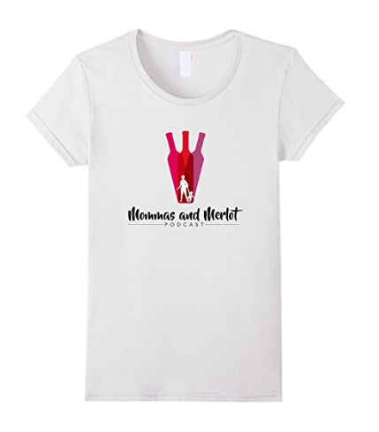 Mommas And Merlot (light colors) Tee