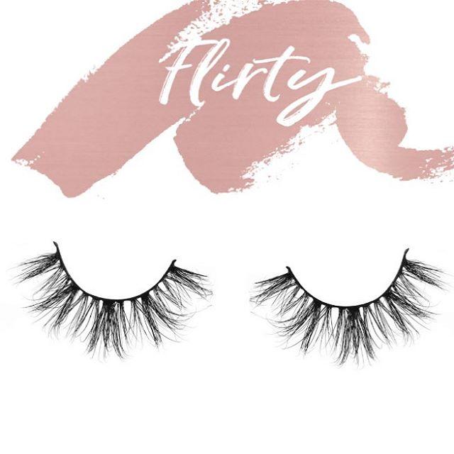 Say Hello 👋🏾 to Flirty Lash #minklashes #lashes #osglashes #makeupartist