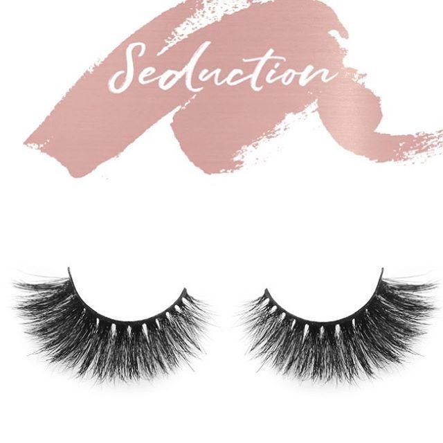 "Say Hello 👋🏾 to ""Seduction Lash"" #minklashes #osgbeauty #lashes #beauty #makeupartist"