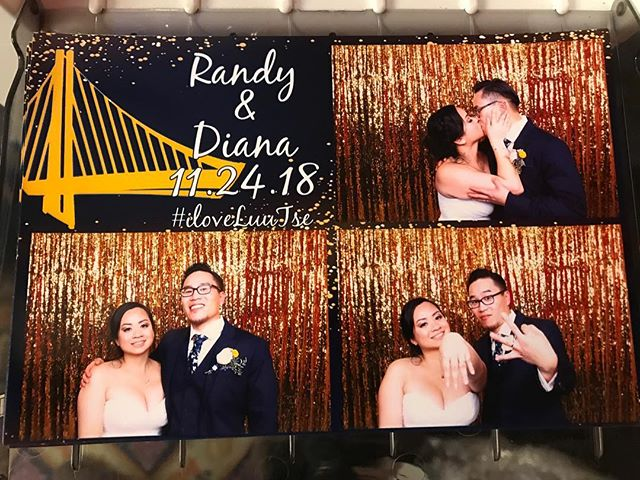 Getting married and want to rep your squad?? Let our graphic designers whip something up to match your theme. :) #photobooth #dubs #gswarriors #wedding #customize #eventrentals #partyrentals #holidayparty #winter #bayarea #photography #partytime #smile #saycheese #border #makingmemories #weddingphotography