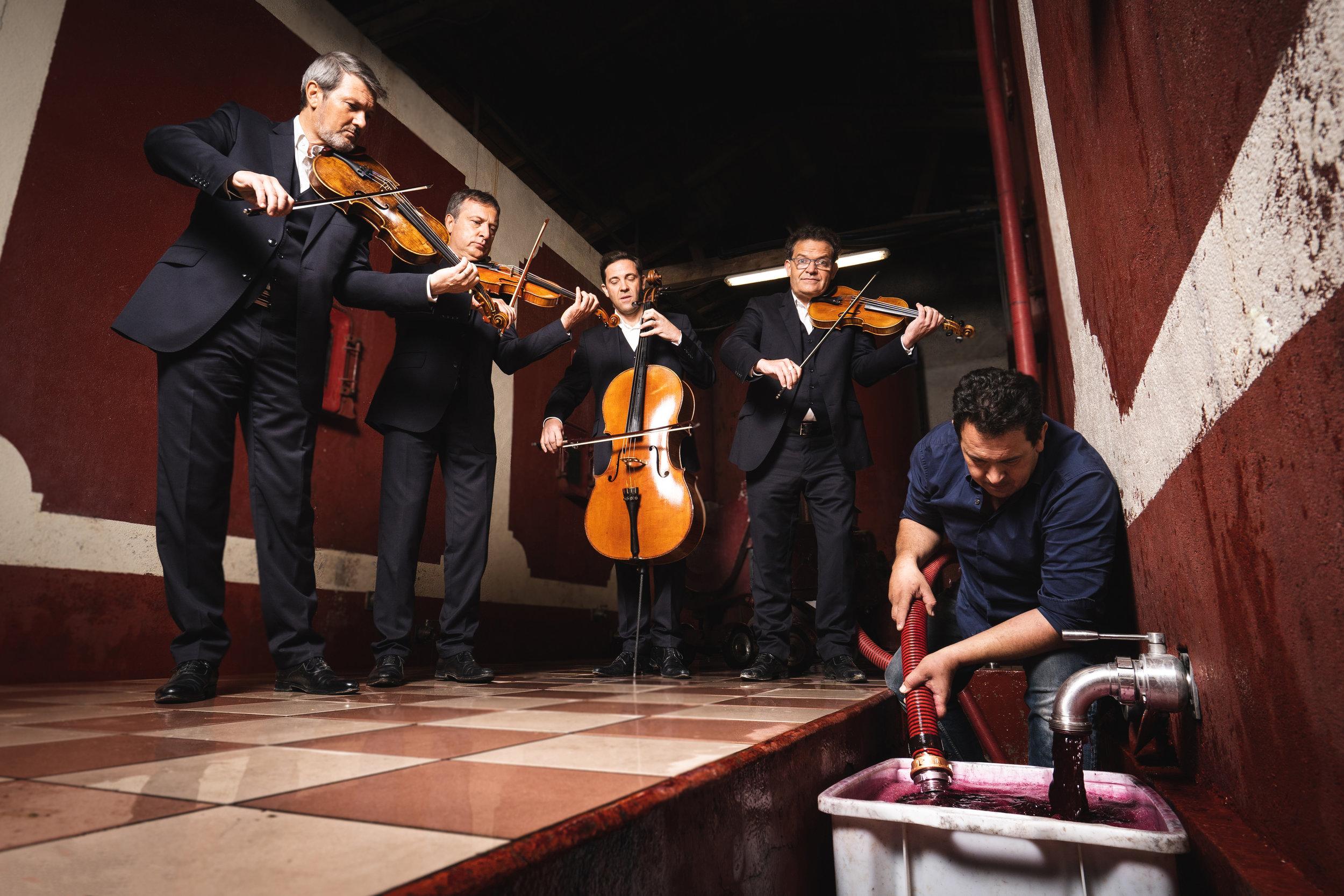 Quatuor Debussy - Domaine de Cousignac