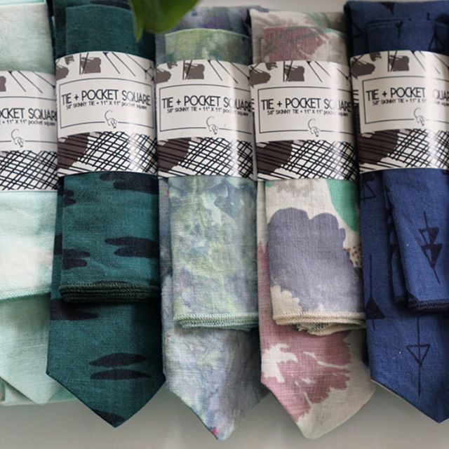Father's Day Sale @owlandmouse Prices down to $45 ties, $30 bow ties, + $12 pocket square sets now through Father's Day! Buy through our website or make an appointment to come by the studio!
