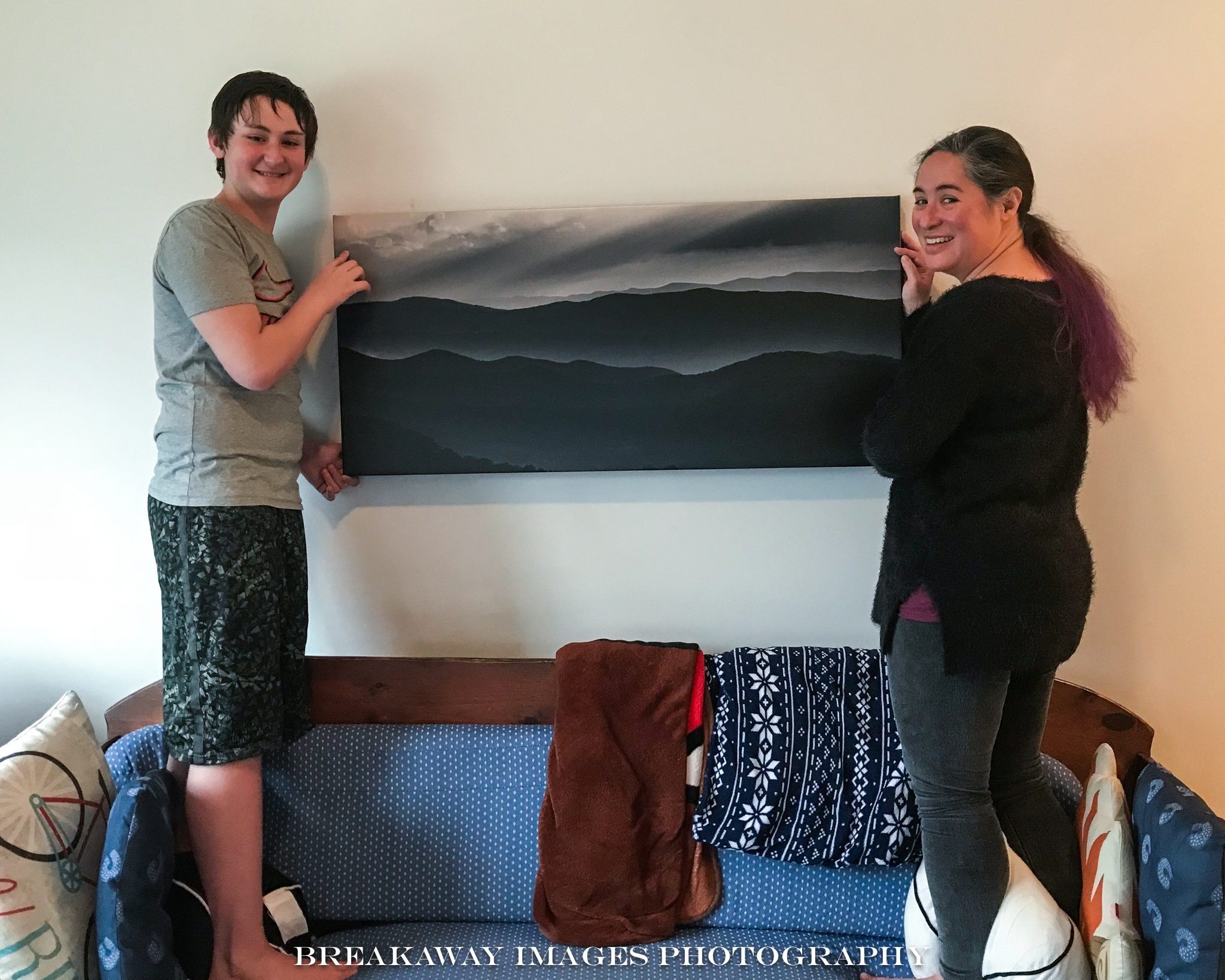 Kay and Dean LyBrand with Mountain Layers.jpg