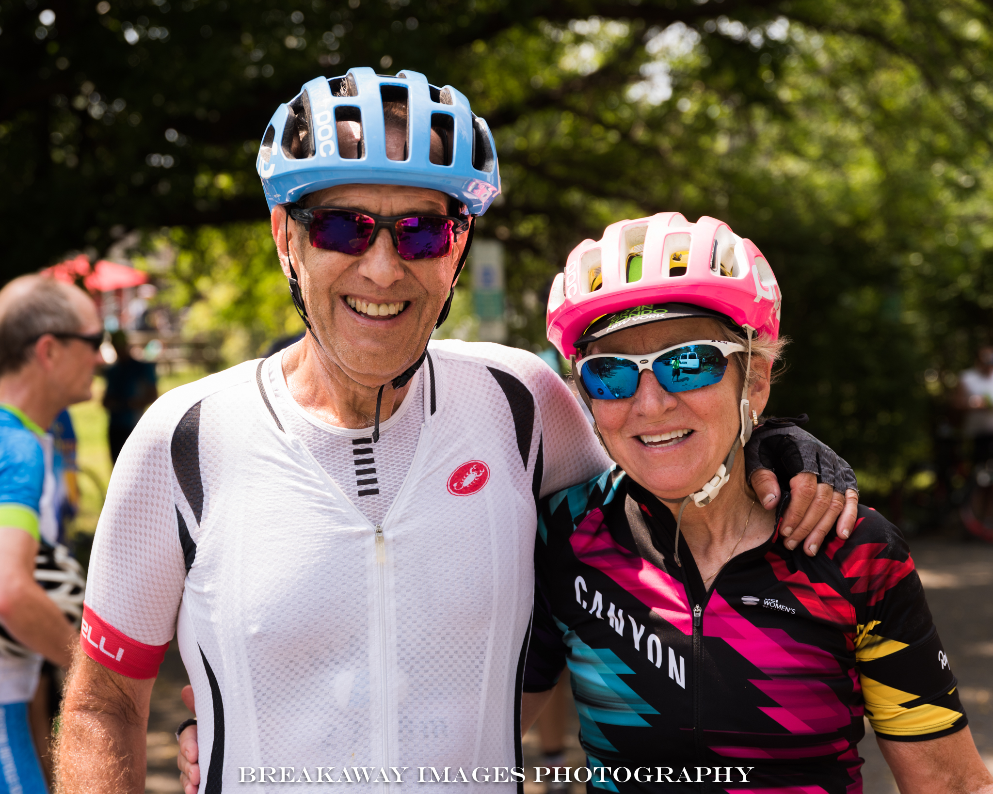 Minnie and Dan Scrafford at the 2018 Reston Century Bike Ride